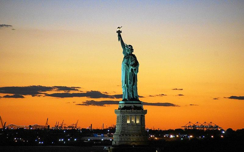 Estátua da Liberdade nos EUA